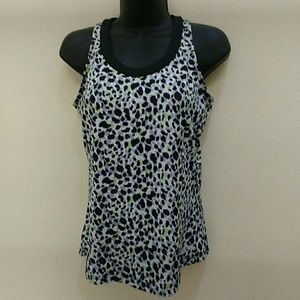 Bolle Active Wear Snow Leopard Tank Top